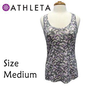 Athleta Size Medium Geometric Graphic High Low